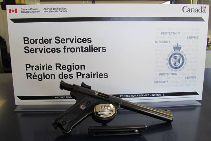 bringing firearms to canada