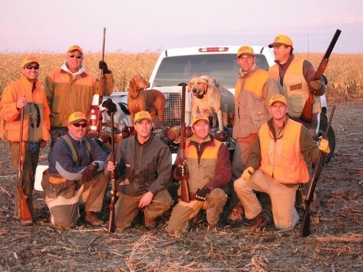 South Dakota pheasant hunt