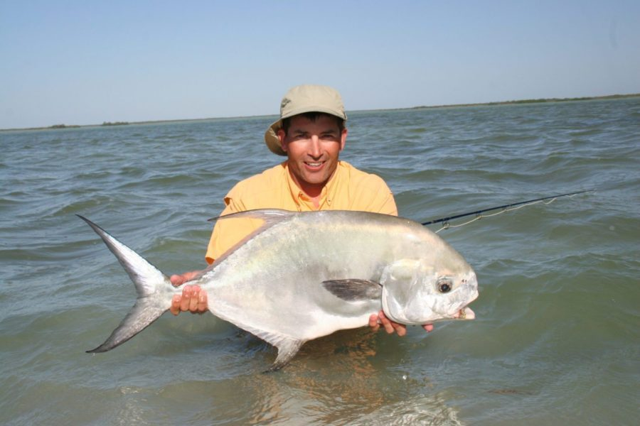 Kent-Goodman-fishing-in-Mexico-Permit