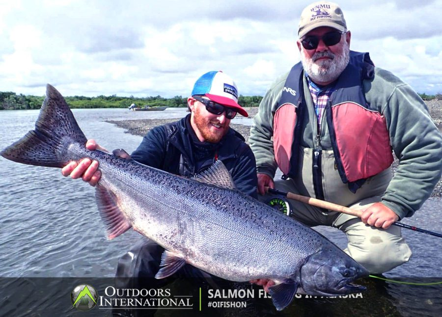 Kanektok River Flyout Salmon Fishing Lodge