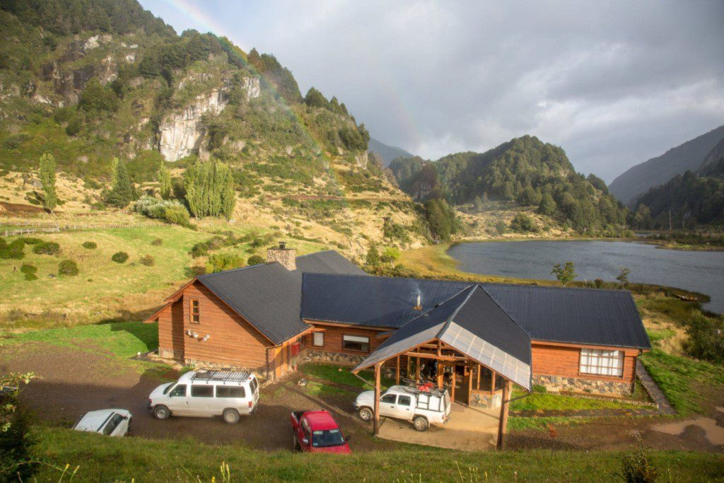 Take in the beautiful Patagonian panorama from this beautiful, modern lodge