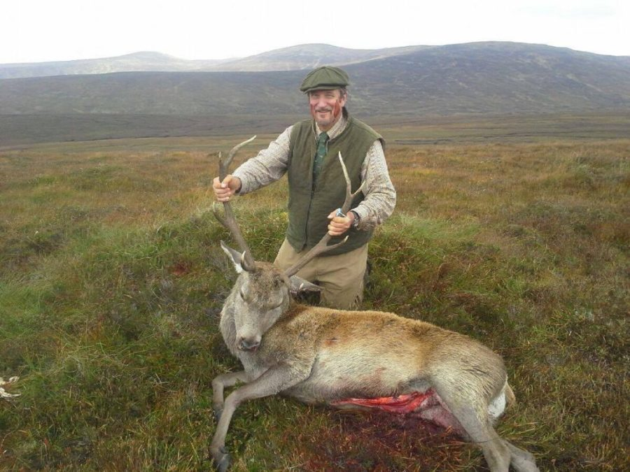 Paul Canevari Red Deer Hunt in Scotland