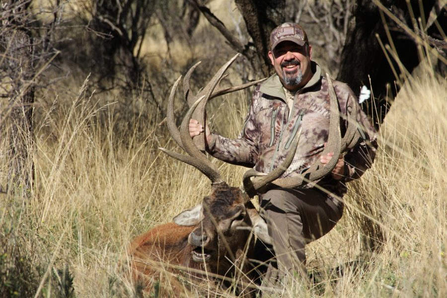 Mat Cervantes Argentina Red Stag with Los Molles
