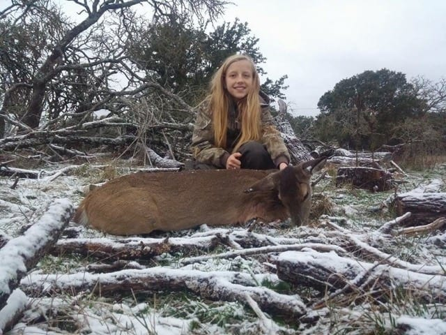 Texas youth hunts