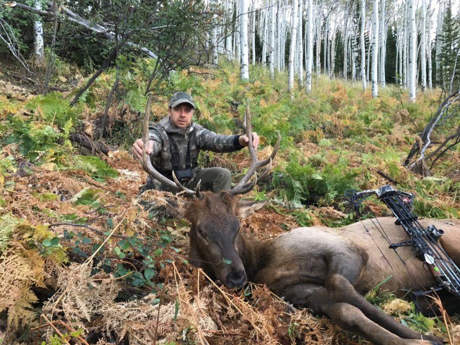 It was great experience to connect on that bull. Grant did a great job of putting me on elk and calling this one in.