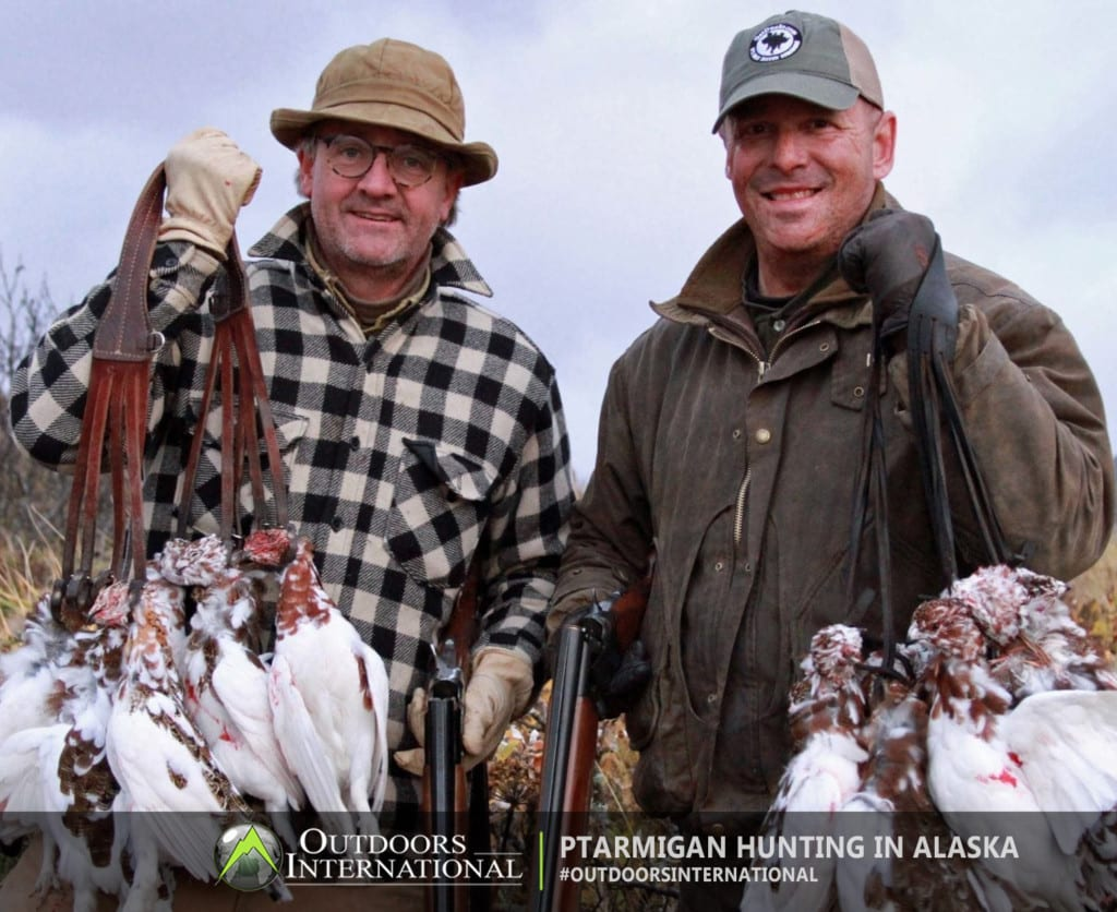 Ptarmigan hunting in Southwest Alaska