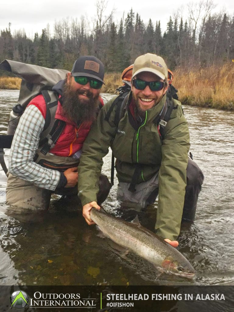 We're confident that anyone who books our Alaska steelhead fishing trip will have an unforgettable experience.