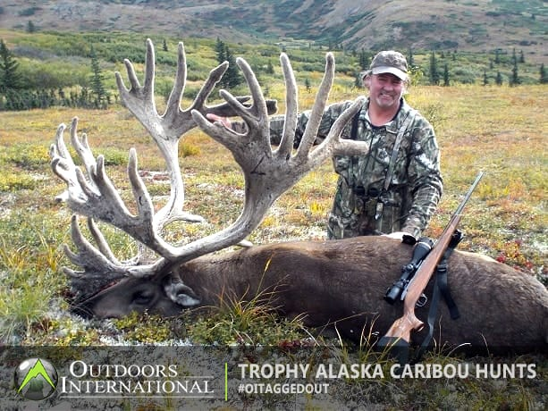 A Record Caribou taken with our outfitter in Alaska
