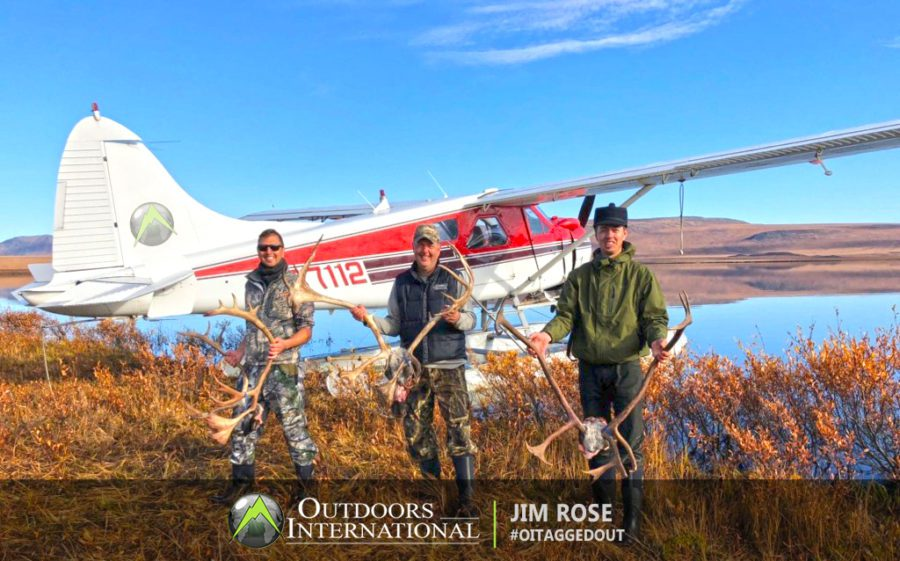 Unguided caribou hunt with arctic air – Kotzeue, Alaska with Arctic Air – Mike and Sheila