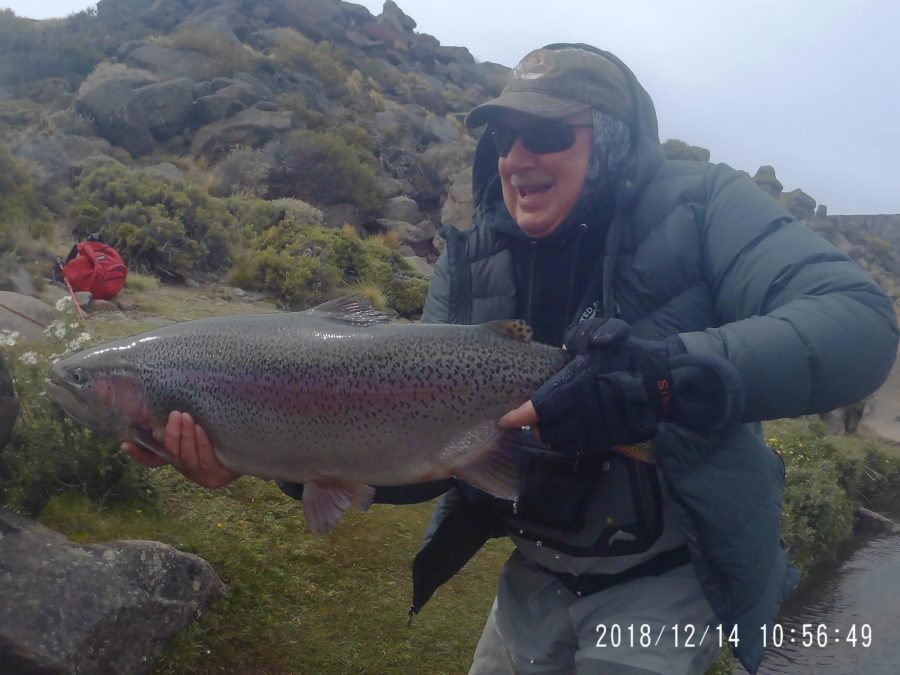 Dennis Thacker – Jurassic Lake, Argentina Fishing Report