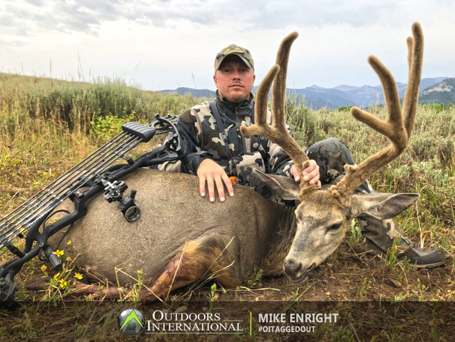 Utah is an amazing place to be able to hunt. The mule deer hunting is truly top notch and you know you are in the presence of some the best hunting and amazing animals every day which gives you a great shot at being successful.