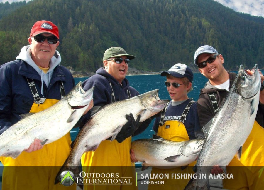 Prince of Wales Fishing Lodge for salmon and halibut.