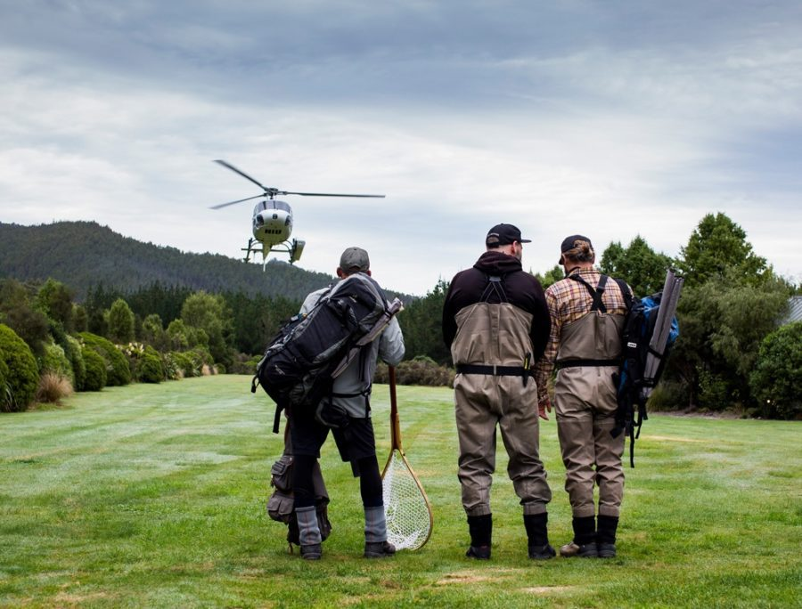 New Zealand Helicopter Fly Fishing