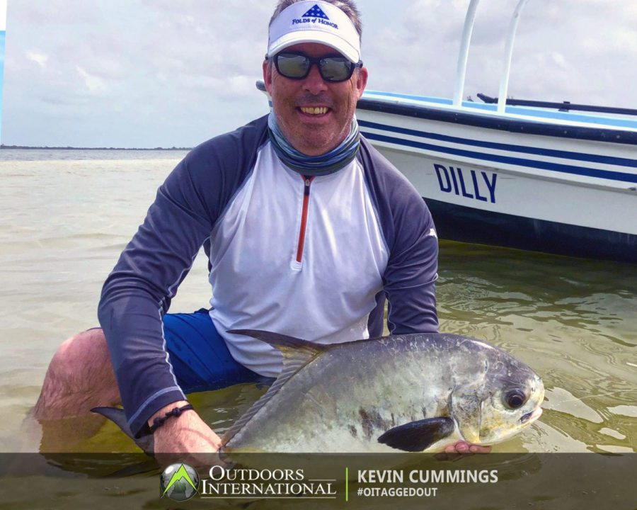 Kevin Cummings, Belize Fly FIshing Report
