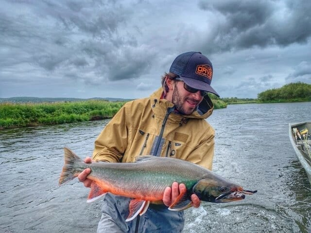 Catch beautiful Dolly Varden when you're Kamchatka fly fishing