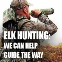 We can help guide the way to elk hunting success