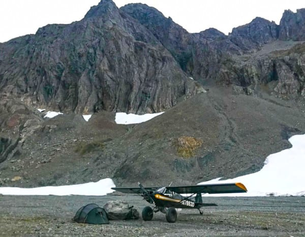 This is a backpack hunt, but you will fly into elevation and be staying in wall tents with stoves and real food.