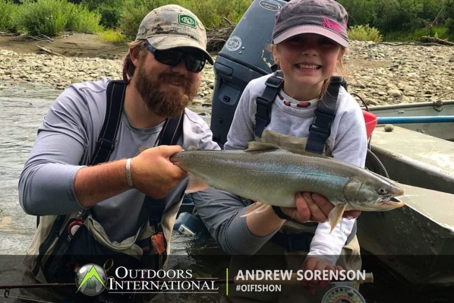 Andrew Sorensen reports his Alaska fishing trip in the Bristol Bay region. They fished the Kvichak River, New Halen, and Moraine Creek.