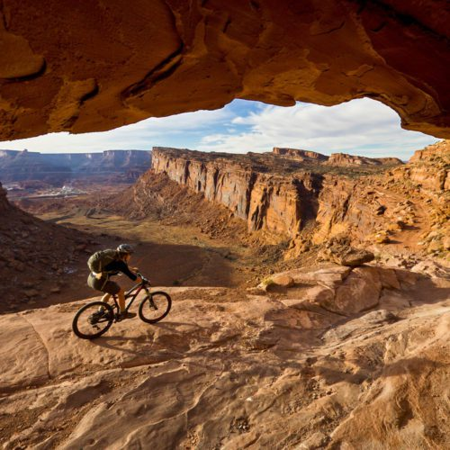 One of the top Utah mountain biking destinations is the world-renowned Moab area.