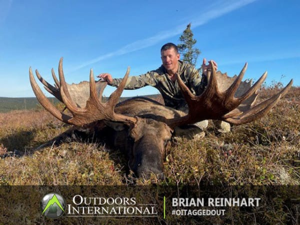The moose hunt was a great. We only saw a couple of bulls, but were able to seal the deal on the big one.