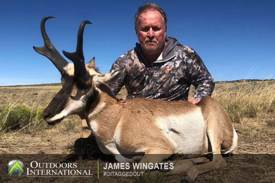 The outfitter lives in and knows this area from front to back, He has all the resources to help you get on a nice trophy Colorado pronghorn.