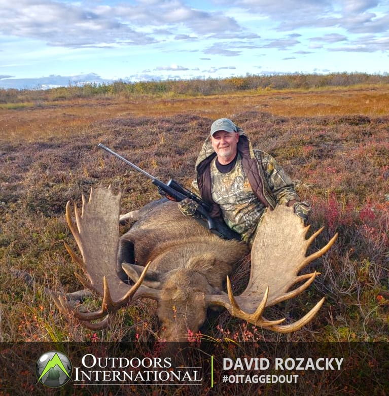 My moose hunt was great.