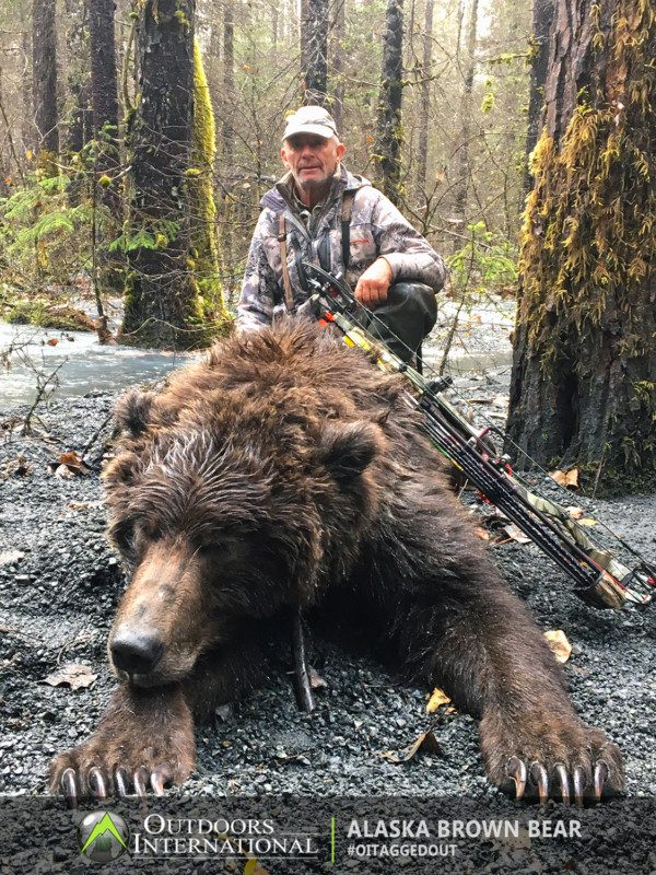 We are fortunate to be hunting an area that has produced exceptionally large bears.